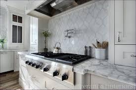 kitchen room wonderful marble tile splashback carrera tile