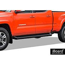 Truck Bed Bars Amazon Com Toyota Tacoma Double Cab Side Step Nerf Bars