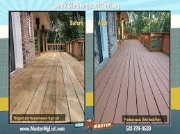 cincinnati deck repair deck restoration