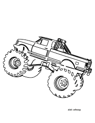 free printable monster truck coloring pages free printable fire