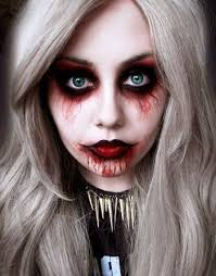 Scary Halloween Costumes Girls 20 Scary Halloween Makeup Ideas Creepy Makeup