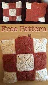 Free Cushion Crochet Patterns Crochet Cushion Pattern Vintage Style Lucy Kate Crochet