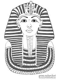 king tut coloring page king tut coloring page 8768 image 3540