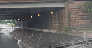 lexus of arlington photos flooding along i 395 near pentagon in arlington wjla