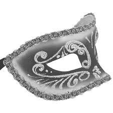 silver masquerade masks venetian mask in london for him pavone filigree swarovski