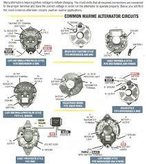 motorola marine 50 amp alternator connection description