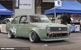 volkswagen gli slammed spotlighting at slammed society fuji speedhunters