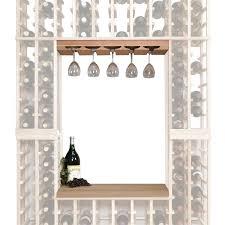 napa vintner stackable wine rack glass rack u0026 table top insert