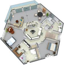 3d examples blue sketch 2400 skyline drive 303 level 1 3d floor plan 1