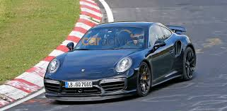2006 Porsche 911 Turbo S Porsche 911 Turbo S Facelift Spied Undisguised