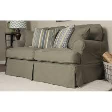 T Cushion Loveseat Slipcover Sofa Loveseat Slipcover Sets Centerfieldbar Com