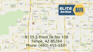 Map Of Tempe Arizona by Auto Repair Tempe Az 480 893 6884 Our Location Youtube