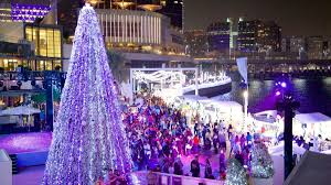national tree lighting ceremony winter wonderland things to do during the festive season in the uae