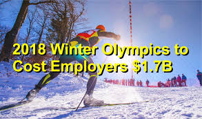 2018 winter olympics to cost employers 1 7b talley co