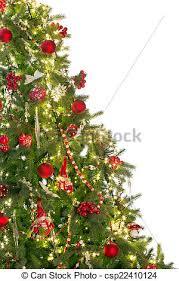 half christmas tree half christmas tree isolated christmas tree with copy space