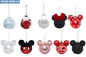 Minnie Mouse Christmas Decorations Primark Is Selling Disney Christmas Baubles And The Minnie