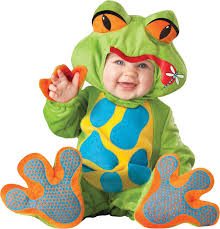 Halloween Costumes Infant Boy Lil U0027 Froggy Infant Toddler Costume Frogs Amphibian Animal Theme
