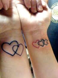 18 best family of three heart tattoos images on pinterest heart