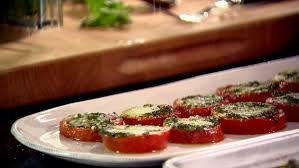 ina garten mac and cheese tomatoes roasted with pesto recipe ina garten food network