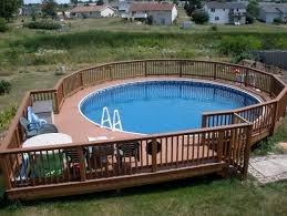 deck plan for above ground pools cool pool plans foot round