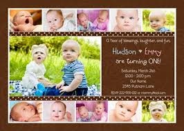 48 best cute twin birthday invitations images on pinterest twin