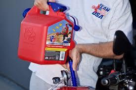 motocross race fuel vp racing fuels vp surecan review no spill no epa