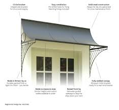 trellis door canopy u0026 features u0026 benefits