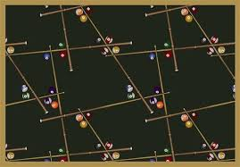themed rug snookered billiard themed rug