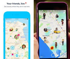 give me a map of my location snapchat launches location feature snap map techcrunch