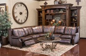 duke reclining leather sectional hemispheres furniture store