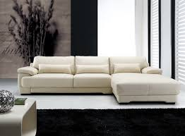 Modern Sofa With Chaise Leather Modern Sofa