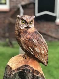 owl wood carving free photo owl wood carving figure free image on pixabay