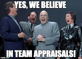 Laughing Meme - laughing team appraisal villains meme reveln consulting