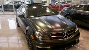 magno night black mercedes matte finish