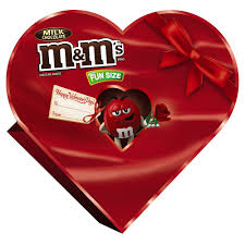 chocolate s day m m s s milk chocolate candy heart gift box 7 9 oz
