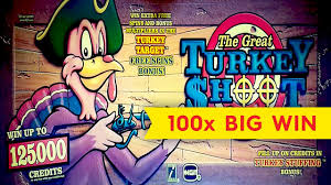 turkey shoot slot 100x big win awesome bonus yes