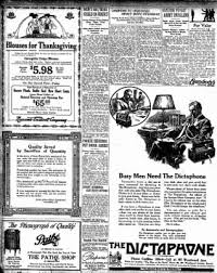 Can You Buy On Thanksgiving In Michigan Free Press From Detroit Michigan On November 27 1918 Page 2