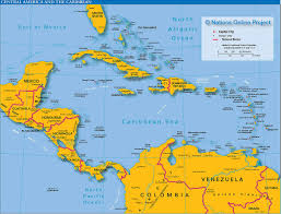 Central America Map And Capitals by Map American Continent Vector On Map Images Let U0027s Explore All