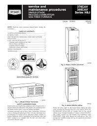 bryant 376cav instruction manual