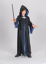 costume wizard robe boys wizard costume cloak robe childrens merlin fancy dress