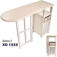Ironing Board Storage Cabinet Ironing Board With Storage Cabinet Drawer Unit Folding For Laundry