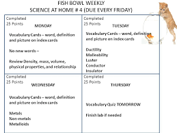 completed definition science weekly science at home 1 due every friday