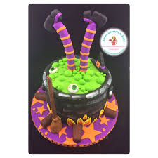 Halloween Witch Cake by Aroma Desserts And More Witch In Her Cauldron Halloween Cake