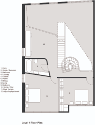 Apartment Plan Gallery Of Loft Apartment Melbourne Adrian Amore 16