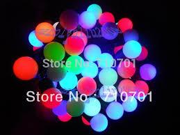 rgb 10m 100 spheres led xams tree string light wedding