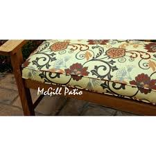 60 Inch Outdoor Bench Cushion Custom Outdoor Bench Cushion Outdoor Bench Cushion 60 Inch Outdoor