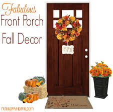 fall front porch decorating ideas that only take minutes to put up