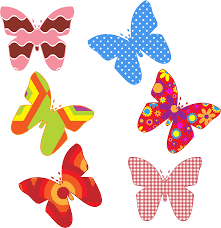 colorful butterfly designs clipart clipartxtras