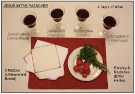 passover 4 cups newsletter 14 passover christian haggadah seder demonstration