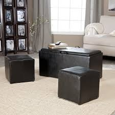 End Table Storage Hartley Coffee Table Storage Ottoman With Tray Side Ottomans